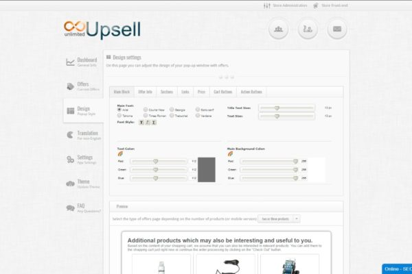 one click upsell shopify