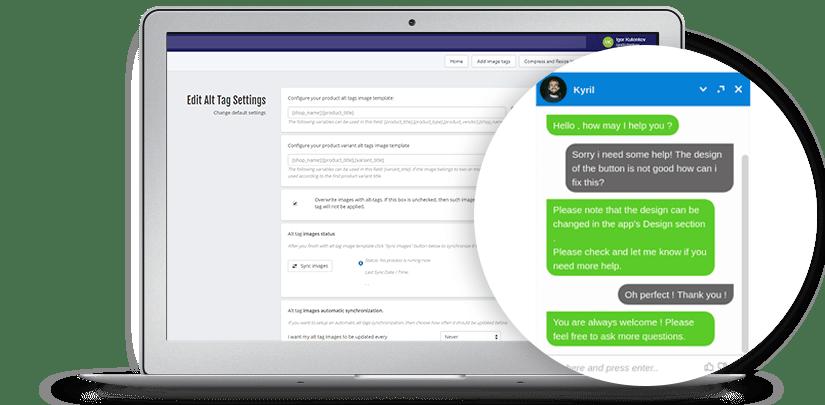Shopify SEO Optimize Images App