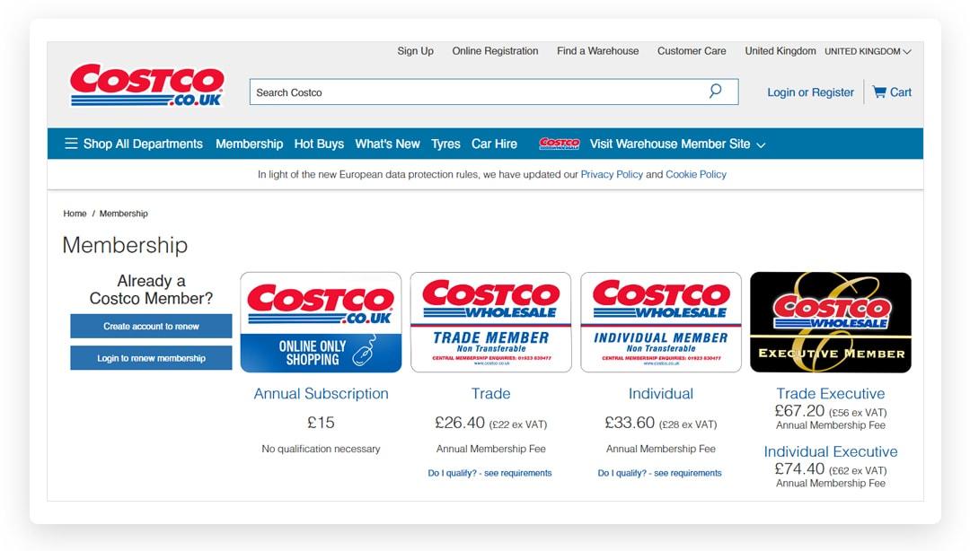 Costco Online