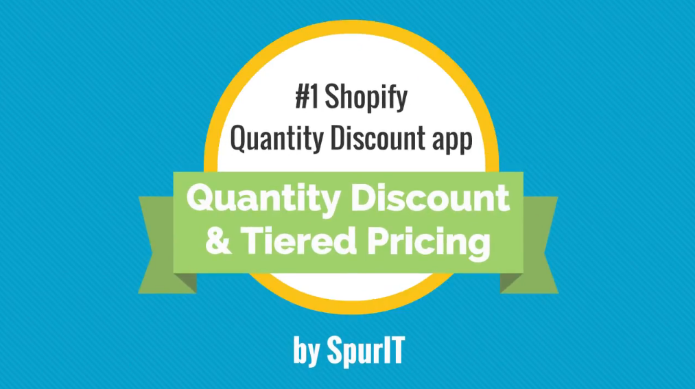 Shopify Quantity Breaks & Discounts app video