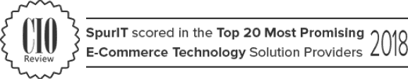CIO Review - SpurIT scored in the Top 20 E-Commercing solution providers