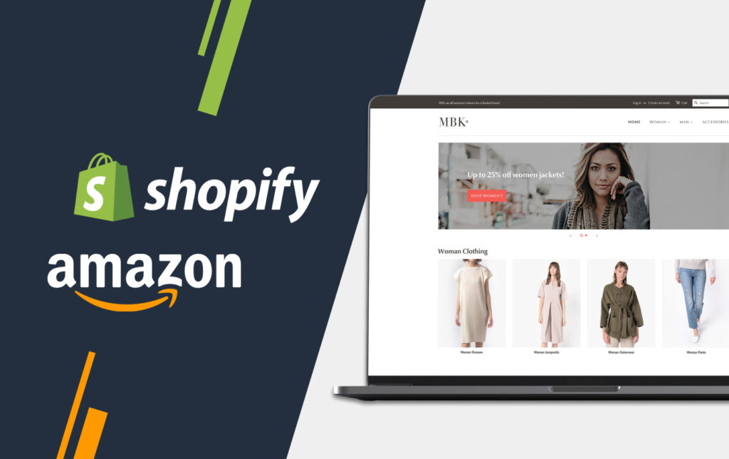 Shopify and Amazon Sales Channels