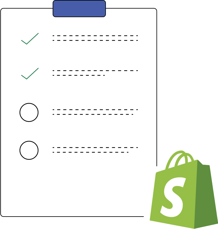shopify small tasks