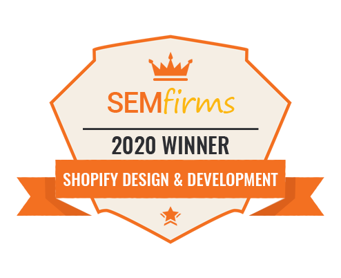 Shopify design & development 2020 winner