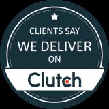 Clutch review logo