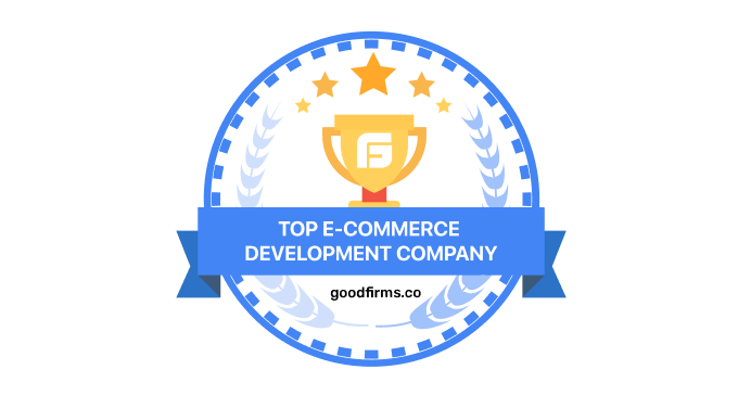GoodFirms Top eCommerce Development Companies rating will open in new window