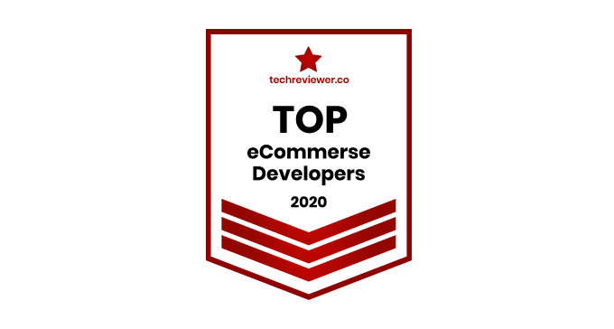 TechReviever Top 30+ eCommerce Development Companies in 2021 rating will open in new window