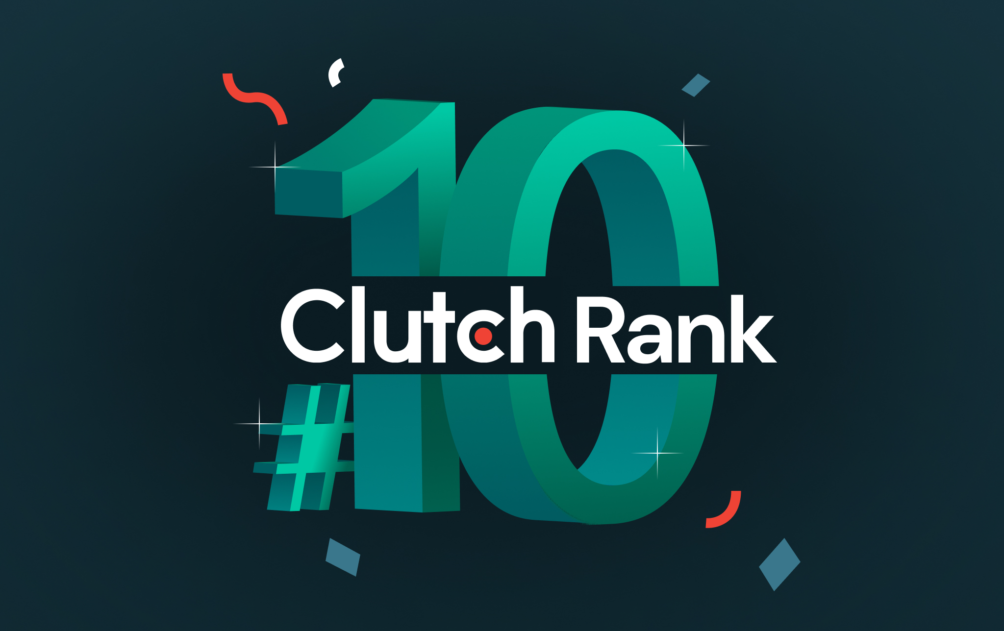 We are 10th in a Clutch Rank